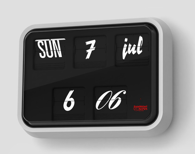 Font-clock