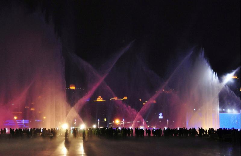 Musical-water-fountain