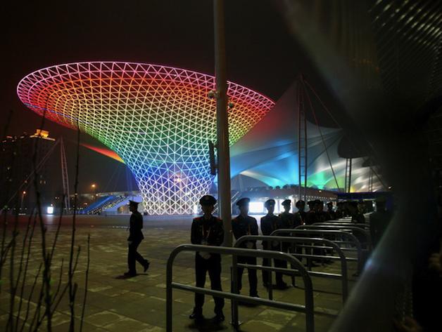 Entering-expo