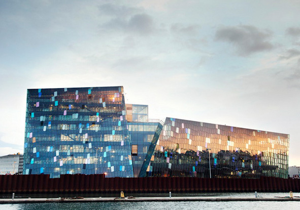 Harpa concert hall-a