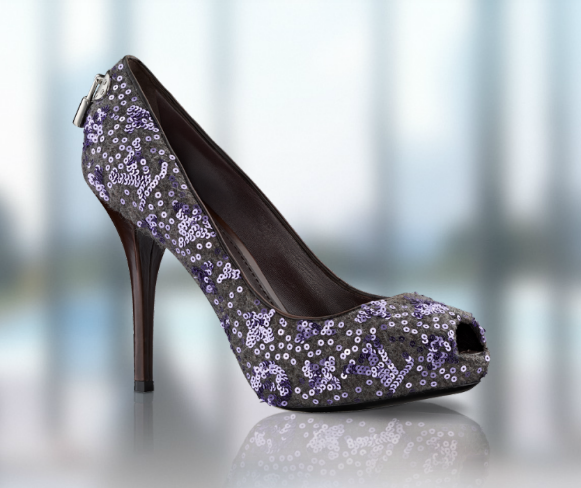 Louis vuitton sparkle shoe