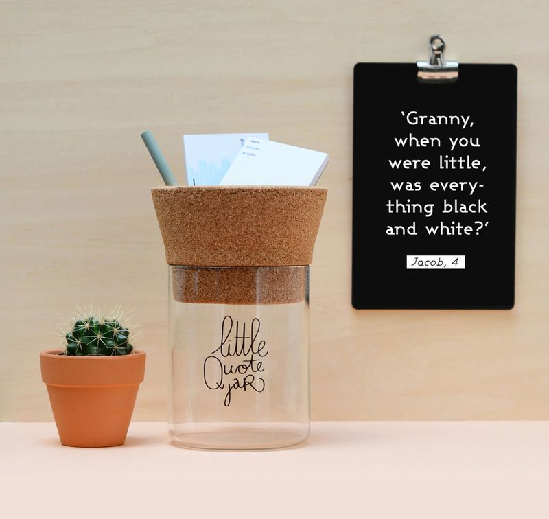 Little quote jar-a