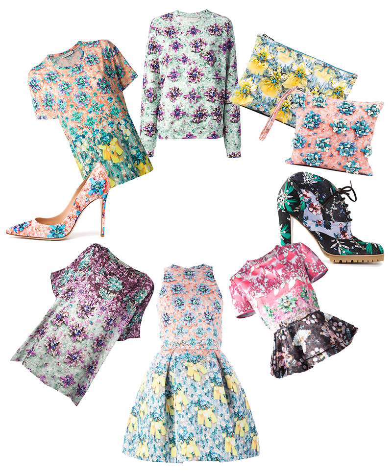 Mary katrantzou gemstone print